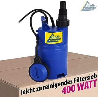 Hecht 3350 Regenfasspumpe Regentonnenpumpe Regenwasser Pumpe Garten Tauchpumpe