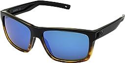 Matte Black/Tortoise Frame/Blue Mirror 580G