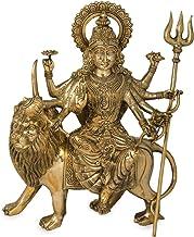 Simhavahini Goddess Durga - Brass Statue