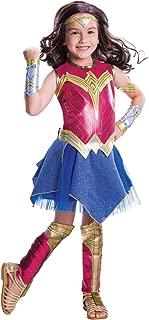 Rubie's Costume Batman vs Superman: Dawn of Justice Deluxe Wonder Woman Costume, Large