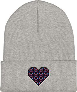 embroidered winter hats