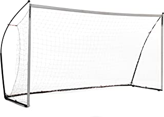 QuickPlay Kickster Elite Portable Soccer Goal with Weighted Base – Ultra Portable Indoor & Outdoor Soccer Goal [Single Goal]