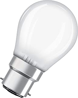 OSRAM LED lamp / Base: B22d / Warm White / 2700 K / 2.50 W / replacement for 25 W Incandescent bulb / frosted / LED Retrof...