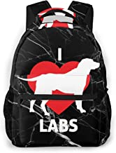 CHRISTMAS SALE First Grade Backpack with Lab Dogs