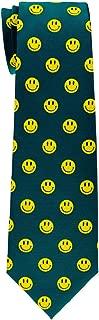 Retreez Happy Smiley Face Emoticon Woven Boy's Tie - 8-10 years - Various Colors
