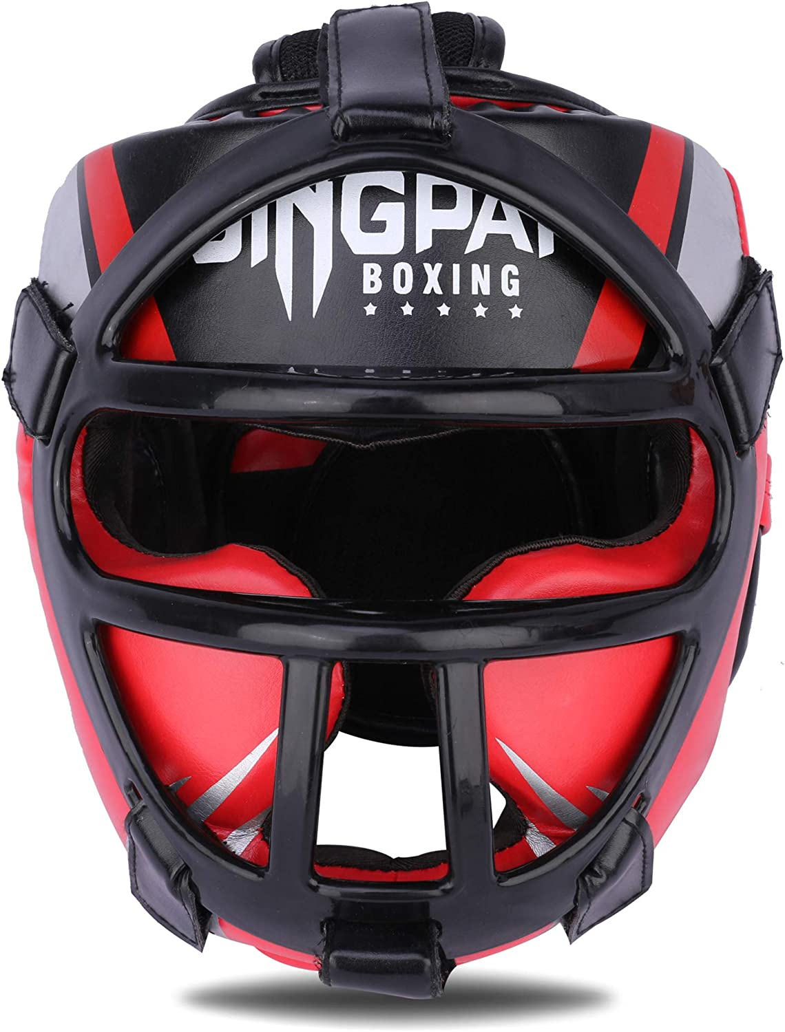 GINGPAI Las Vegas Special Campaign Mall Boxing Headgear MMA Synthetic Leather Training