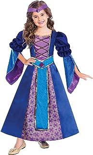 amscan 9904477 Child Medieval Princess Costume Set, 8-10 Years-2 Pcs