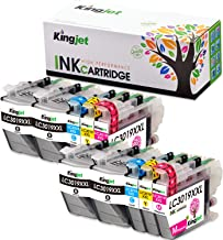 Kingjet LC 3019 Ink Replacements for Brother LC3019XL Ink Cartridges Compatible with MFC-J5330DW MFC-J6530DW MFC-J6930DW MFC-J6730DW Inkjet Printers 10 Pack(2Set + 2BK)
