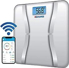 FARMAMED Báscula Grasa Corporal Digital, Báscula de Baño, Monitores de Composición Corporal, Báscula Inteligente Bluetooth Wireless para Android y iOS