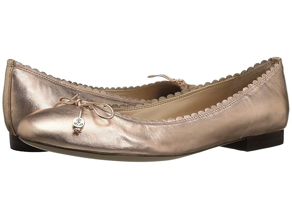 LAUREN Ralph Lauren Glennie (Rose Gold Metallic Leather) Women
