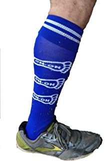 Blue Shiggy Socks Soccer Style Durable Best Trail ON ON