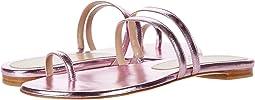 India Pink Metallic Nappa