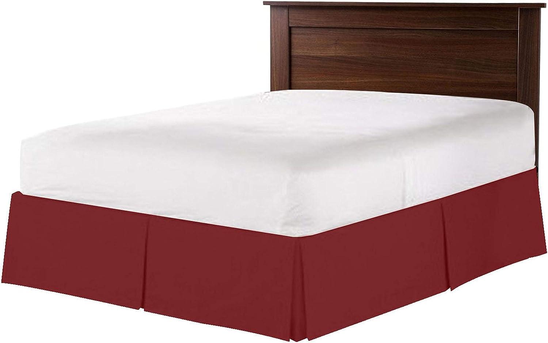Super-cheap Rinku Linen 550-TC Giza Cotton Dust Size 1 Skirt King Seattle Mall Bed Ruffle