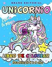 Unicornio Libro de Colorear para Niños de 4 a 8 años (Spanish Edition)