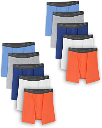 Fruit of the Loom Boys' Boxer Briefs (Assorted Colors)