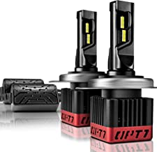 OPT7 Fluxbeam CORE CHOICE H4 9003 LED Headlight Bulbs with FX-7000 CREE Chip Plug-N-Play Conversion Kit - 9,000LM 6000K Cool White - Built. Not Bought -1 Year Warranty
