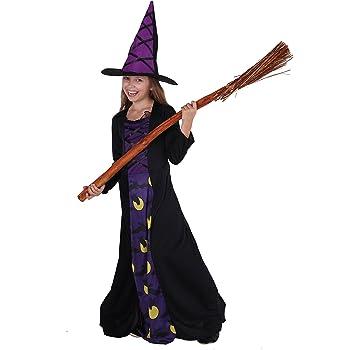 Elegante disfraz de bruja – Disfraz de bruja elegante y completo ...