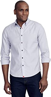 Rubican - Untucked Shirt for Men Long Sleeve,...