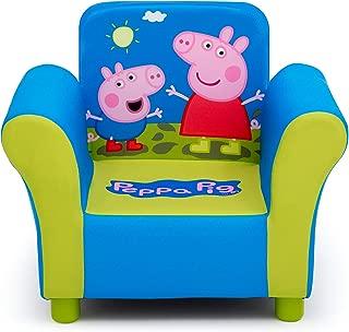 Delta Children Upholstered Chair, Peppa Pig