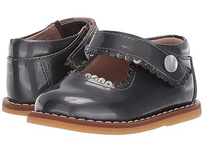 Elephantito Mary Jane (Toddler) (Patent Steel) Girls Shoes