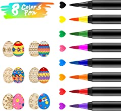 Food Coloring Markers Pens ValueTalks 8Pcs Food Grade Edible Markers Food Writer for Kids Cookies Decorating Cakes Fondant...