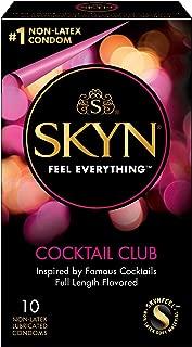Lifestyles Skyn Cocktail Club Premium Flavored Condoms, 10 Count