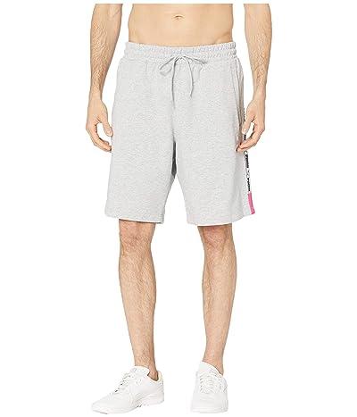 PUMA XTG Shorts 8 (Light Grey Heather) Men