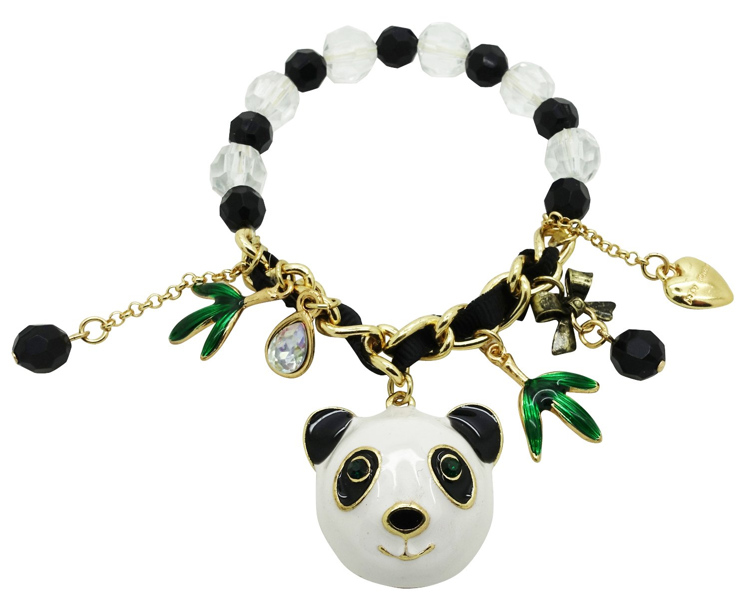 PANDA BEAR BEAD JEWELLERY MAKING