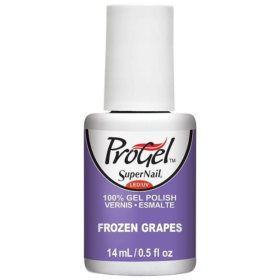 発掘完全に首謀者SuperNail ProGel Gel Polish - Frozen Grapes - 0.5oz / 14ml