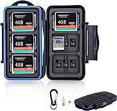 36 Slots SD Card Case Micro SD Card Case CF Card Holder Memory Card Holder Storage for 18 Micro SD Card, 12 SD SDXC SDHC C...