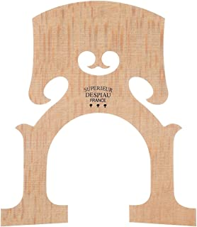 Despiau Cello Bridge - Belgian Model, Foot width 88 mm