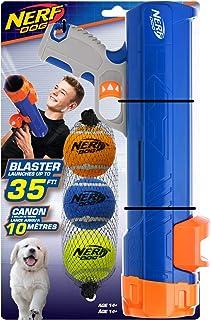 كرات تنس مع مشبك كرة 30.48 سم مع مشبك كرة 3 5.08 سم - أزرق داكن / برتقالي/رمادي وبرتقالي وأخضر