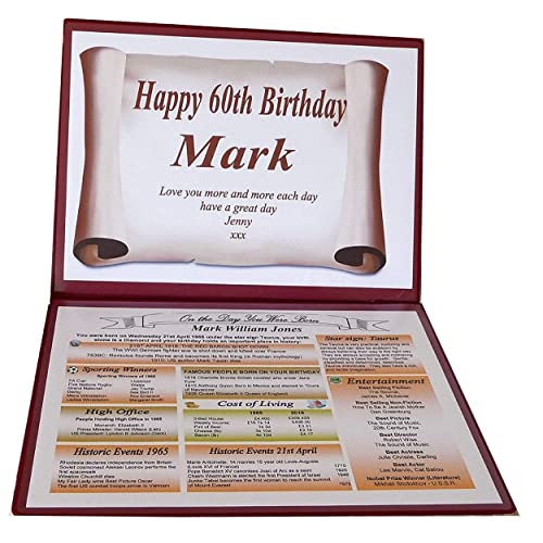 NWM Gifts SPECIAL 60th BIRTHDAY GIFT 1959
