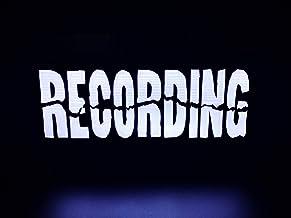 RECORDING Light Box, Light Up sign,Illuminated RECORDING sign