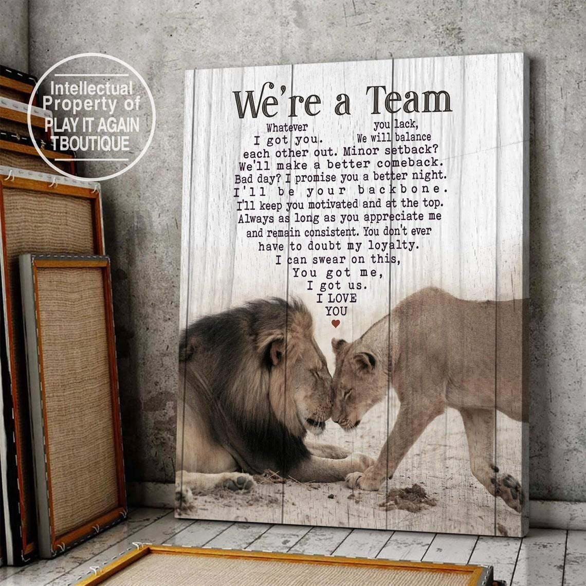 Personalized Couple Lion King All items in the store Queen Gift Team We're A Product Newlywed
