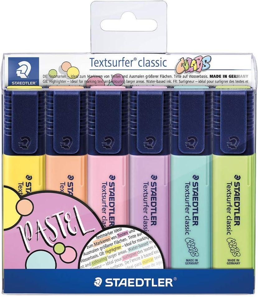STAEDTLER 364 CWP6 Textsurfer online shop Classic Highlighter Nashville-Davidson Mall in Pastel Made