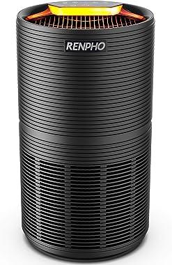 Renpho Purificador de aire para casa grande habitación 480 pies cuadrados con filtro HEPA verdadero H13, purificador de aire
