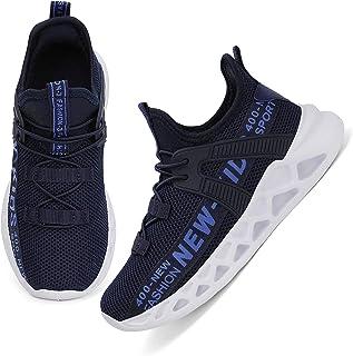 أحذية Nihaoya للأولاد والبنات أحذية رياضية للجري والمشي تنس