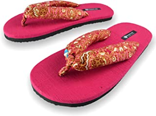 Miranda Anh Wide Colorful Beach and Casual Comfortable Flip-Flops