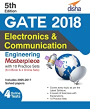GATE 2018 Electronics & Communication Engineering Masterpiece with 10 Practice Sets (6 in Book + 4 Online) 5th edition