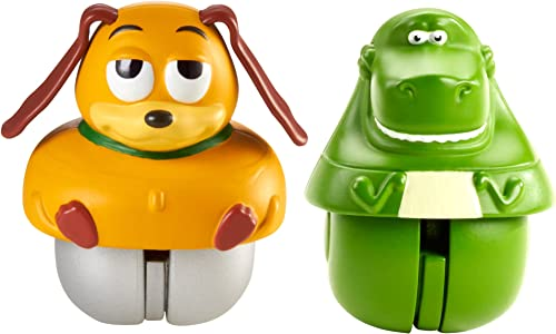 Toy Story Zing Ems Rex and Slinky Dog by Mattel