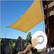 PENGFEI schaduwdoek Sunblock Shading Net, UV-bestendig weefsel waterdicht Tarp met D-vormige doorvoertule, outdoor Sunbloc...