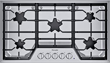 Thermador SGS365TS Masterpiece 36 Inch Wide 5 Burner Gas Cooktop with Star Burners