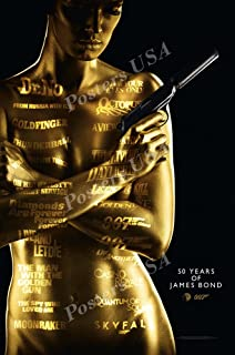 Best 50 years of bond poster Reviews