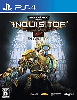 Oizumi Amuzio Warhammer 40 000 Inquisitor Martyr SONY PS4 PLAYSTATION 4 JAPANESE VERSION