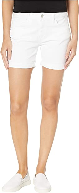 Pixie Boyfriend Shorts in White Tribeca