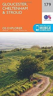 OS Explorer Map (179) Gloucester, Cheltenham and Stroud