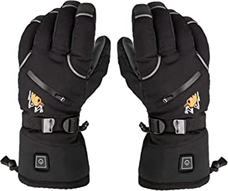 Heated Gloves for Men & Women - Battery Electric Heated Warm Ski Hiking Cycling Motorcycle Winter Mountaineering Outdoor Hunting Gloves   Raynaud & Arthritis Relief   Works Up To 6 hours