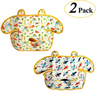 Epltion Piddle Pad Car Seat Protector,Potty Training Seat Saver Pads for Infants Baby and Toddlers,2019 Updated Leak Free Car Seat Liner for Baby Stroller and Bouncers (2 Pack)