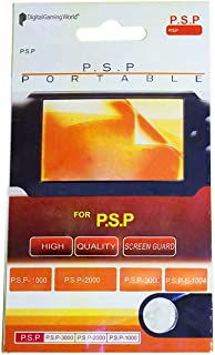Digital Gaming World® Screen Guard/Protector For PSP (1000/2000/3000 and E-1004 Models)*New Stock*